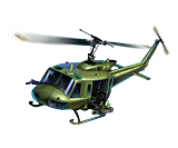 Build the iconic Vietnam War Hueys and tanks